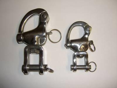 Marathon-Patentverschluß Kleinpferd u. Großpferd